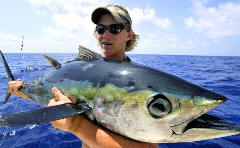 48 inch Yellowfin Tuna Mount